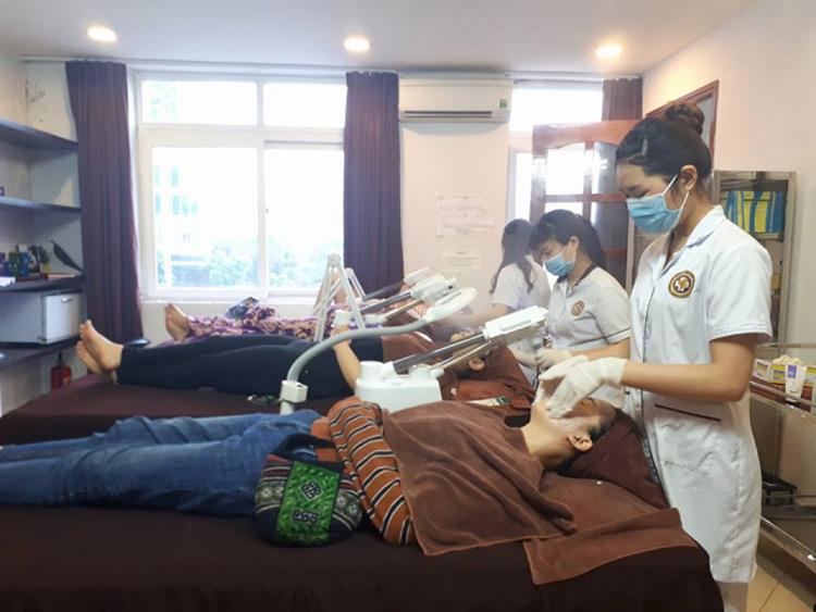Trung tâm đem đến dịch vụ chăm sóc da an toàn, chuyên nghiệp cho khách hàng