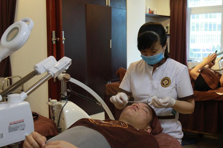 Trung tâm đem đến trải nghiệm dịch vụ chăm sóc da hoàn hảo, chuyên nghiệp