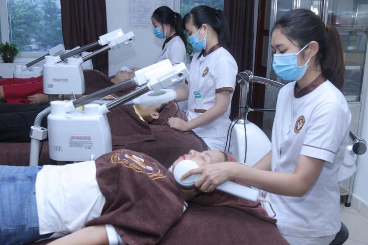Quy trình chăm sóc da chuyên nghiệp tại Trung tâm Da liễu Đông y Việt Nam