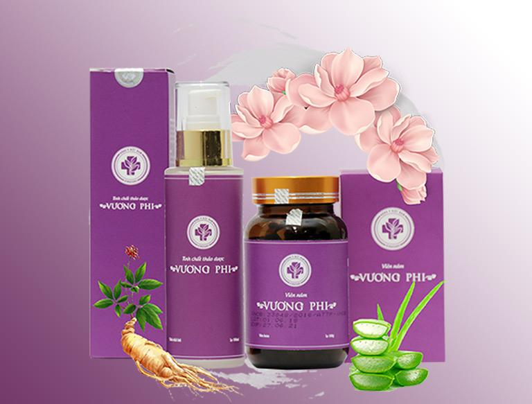 Vương Phi – sản phẩm được bào chế dựa trên bài thuốc trị nám của các cung phi thời Trần.