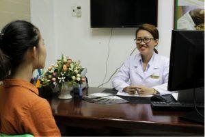 Dược sĩ mỹ Trung tâm da liễu đông y Việt Nam