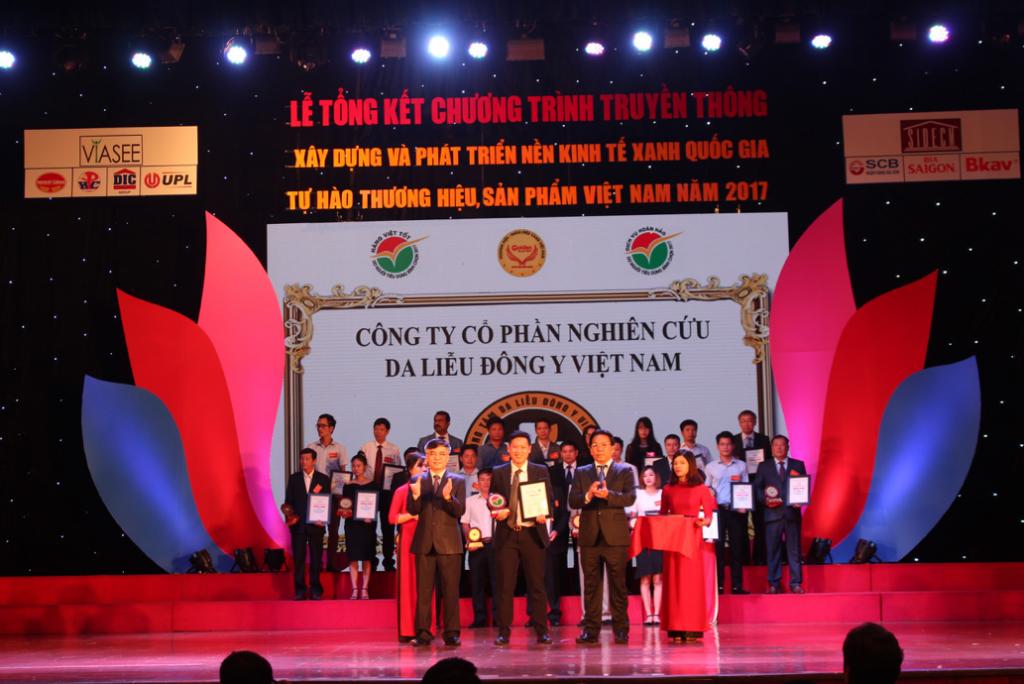 thành tựu của Công ty CP Nghiên cứu Da liễu Đông y Việt Nam