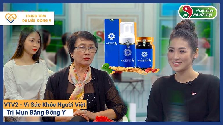 Hoàn Nguyên được VTV2 giới thiệu là sản phẩm trị mụn trứng cá bằng Đông y hiệu quả