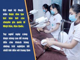 Người bệnh được chăm sóc da tại Trung tâm Da liễu Đông y Việt Nam