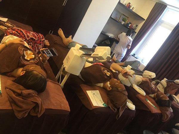 Liệu trình điều trị mụn tại Trung tâm Da liễu Đông y Việt Nam