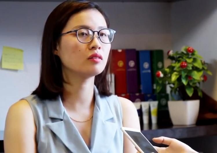 Tình trạng da của chị Nhung sau khi dùng hết liệu trình trị mụn Hoàn Nguyên