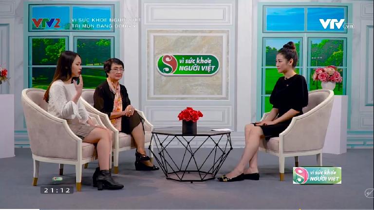 Chia sẻ của bạn Huyền Anh về mụn trứng cá và quá trình điều trị hiệu quả trên kênh TVT2