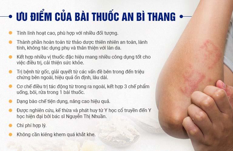 Ưu điểm của bài thuốc An Bì Thang