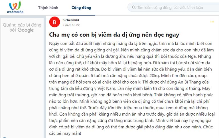 An Bì Thang được khen ngợi trên các diễn đàn lớn