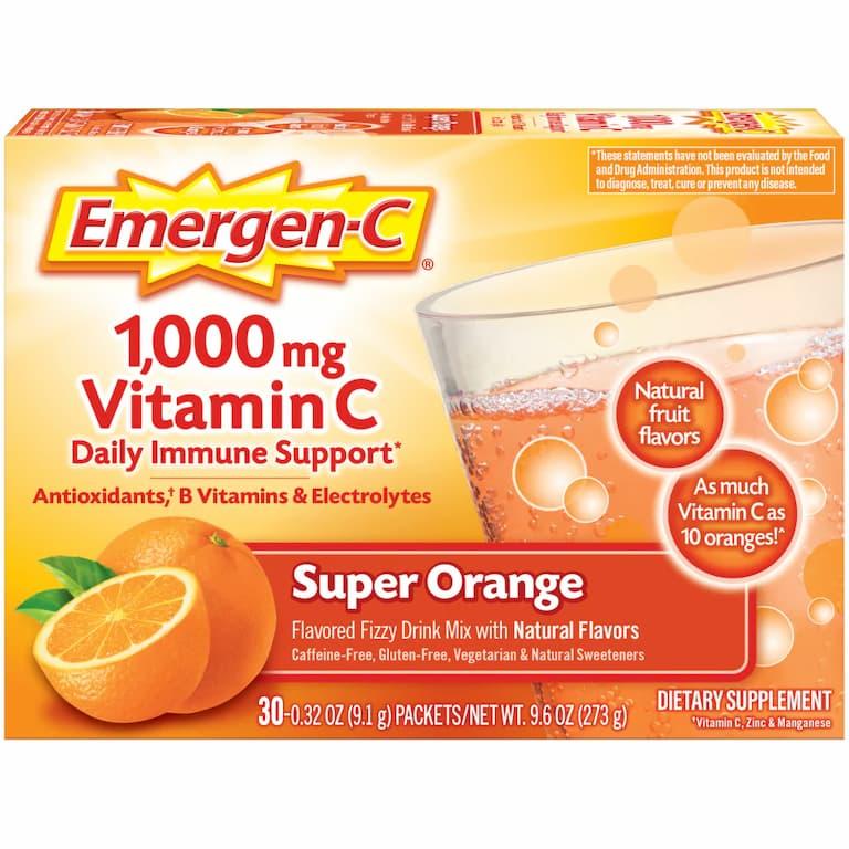 Bổ sung vitamin C tăng cường sức đề kháng cho người bị chàm