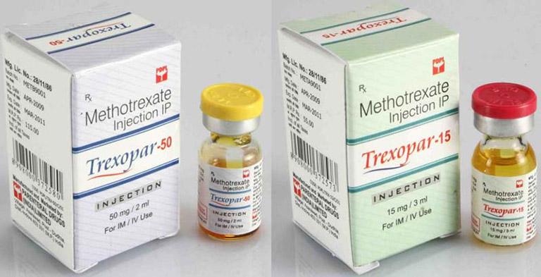 Thuốc Methotrexate có cả dạng uống, tiêm và truyền