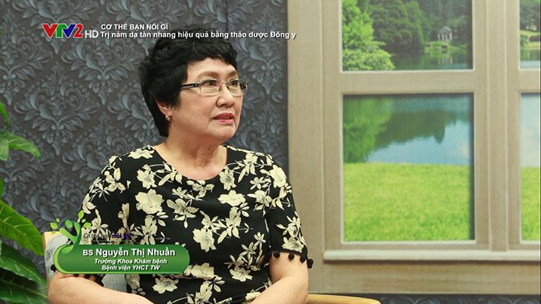Bác sĩ Nhuần giải đáp về tình trạng nám da, tàn nhang trong giai đoạn hiện nay