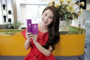 Làn da trắng đẹp của Diễn viên Lương Thu Trang sau khi sử dụng Vương Phi