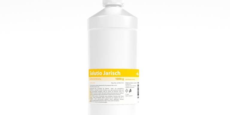 Dung dịch Jarish được sử dụng để điều trị khi các tổn thương trên da mới xuất hiện