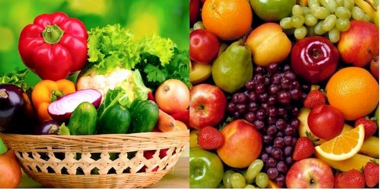 Người bị vảy nến nên ăn nhiều hoa quả và rau xanh