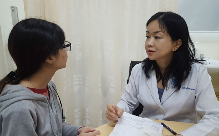 Sau khi thăm khám bác sĩ sẽ có chỉ định phù hợp cho người bệnh