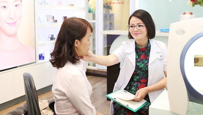 Sau khi thăm khám, căn cứ vào mức độ bệnh bác sĩ sẽ có chỉ định phù hợp để điều trị bệnh