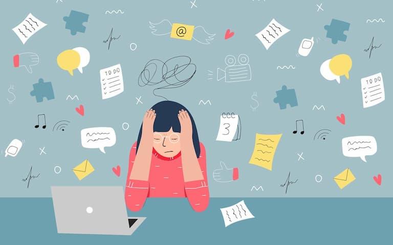 Stress nặng cũng được xem là nguyên nhân gây vảy nến thể giọt