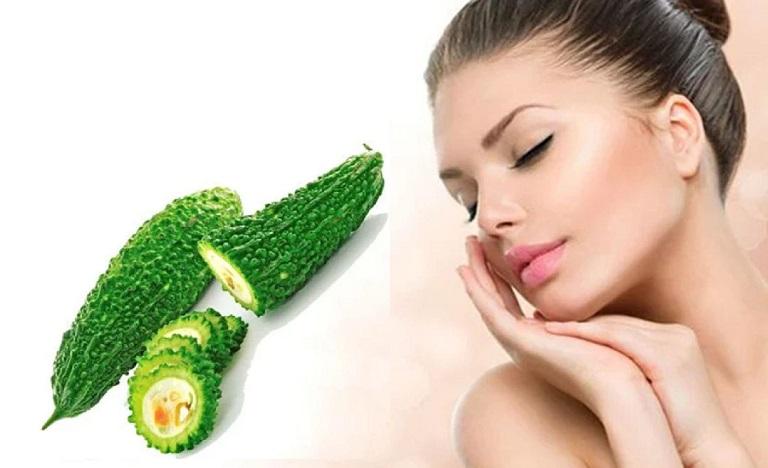 Sử dụng khổ qua để chữa viêm da dị ứng ở mặt vừa an toàn vừa hiệu quả