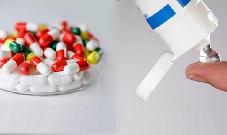 Sử dụng những loại thuốc uống, thuốc bôi là cách điều trị viêm da tiếp xúc hiệu quả đơn giản nhưng mang lại hiệu quả cao