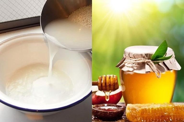 Mặt nạ nghệ tươi và nước vo gạo giúp mềm da