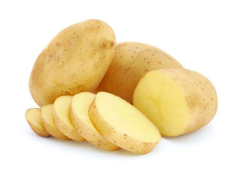Khoai tây có công dụng trị mụn và mờ vết thâm