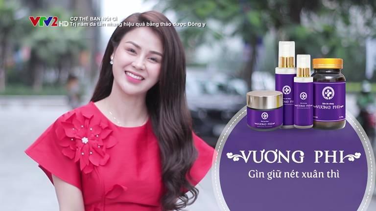 Nữ diễn viên Lương Thu Trang chữa khỏi nám sau 3 tháng đồng hành cũng Trung tâm Da liễu Đông y Việt Nam