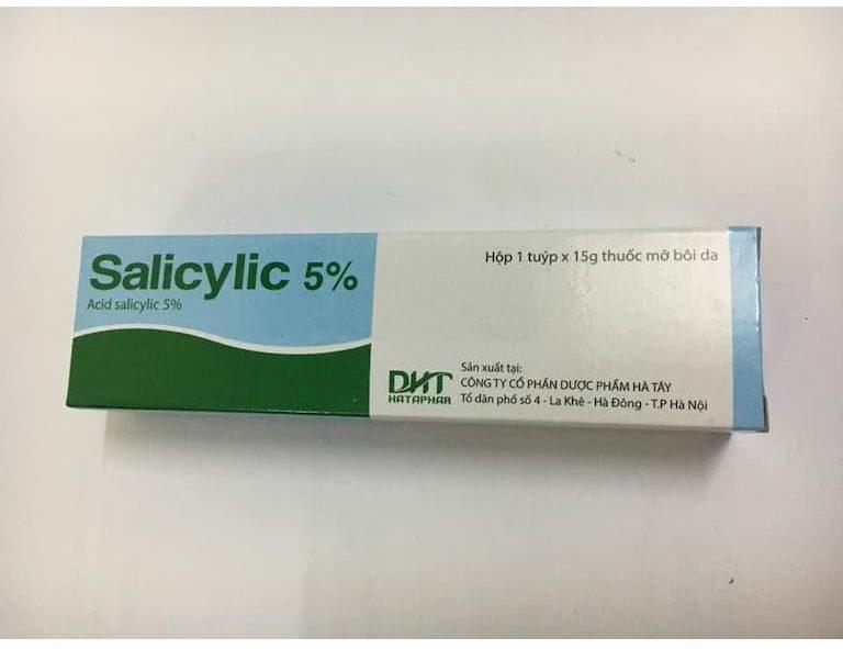 Acid salicylic có khả năng làm tiêu các lớp sừng hiệu quả
