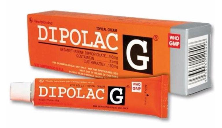 Dipolac là loại thuốc bôi mang lại hiệu quả rất tích cực
