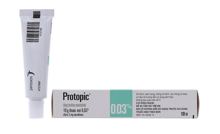 Protopic là thuốc bôi chữa bệnh tổ đỉa rất an toàn