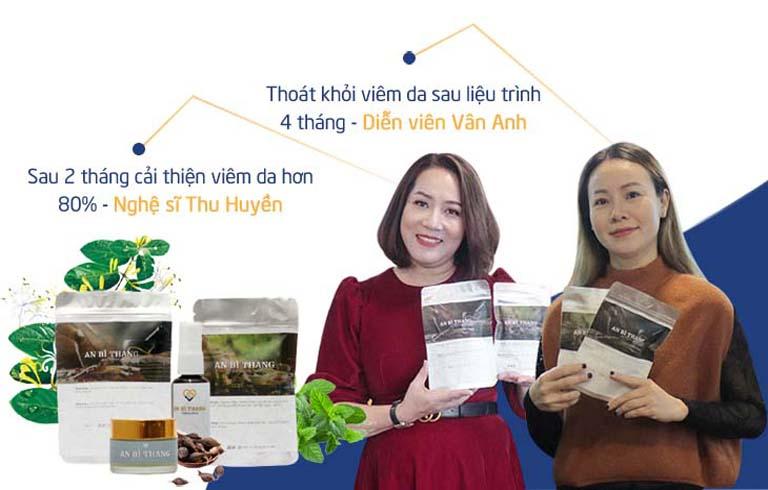 Diễn viên Vân Anh và Thu Huyền đều nhận về kết quả tích cực sau khi dùng bài thuốc An Bì Thang