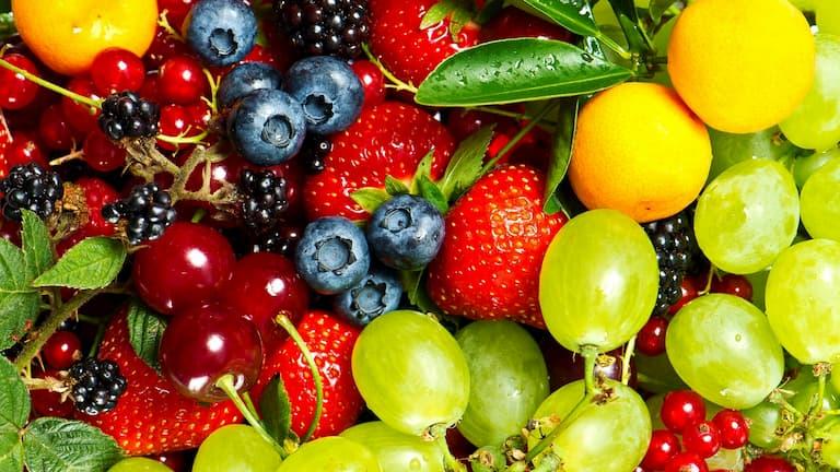 Ăn nhiều hoa quả giúp bổ sung vitamin