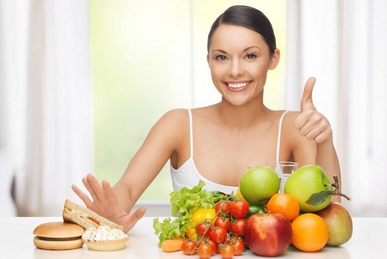 Ăn uống khoa học và đầy đủ sẽ giúp bệnh mau khỏi và ngăn ngừa bệnh tái phát
