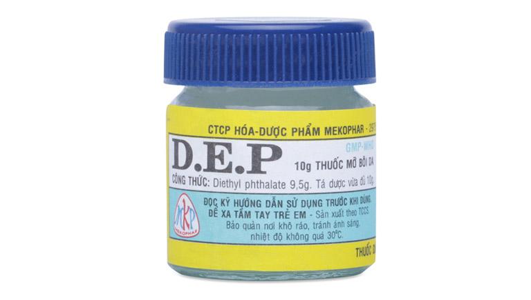 Dùng thuốc D.E.P chuyên trị ghẻ