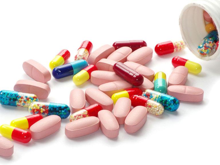 Sử dụng thuốc để điều trị mụn bọc ở thân dương vật