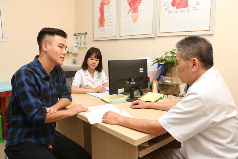 Cần đến bác sĩ sớm để được thăm khám, chữa trị