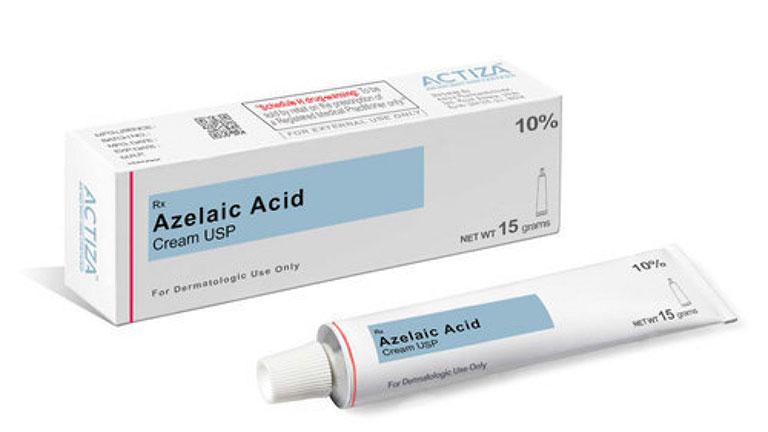 Thuốc trị nhọt ở mông Acid Azelaic còn có khả năng hồi phục da