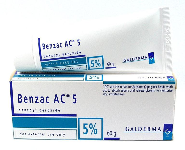 """Benzoyl peroxide - """"Hoạt chất vàng"""" trong điều trị mụn nhọt"""