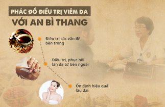 Phác đồ điều trị viêm da của bài thuốc An Bì Thang
