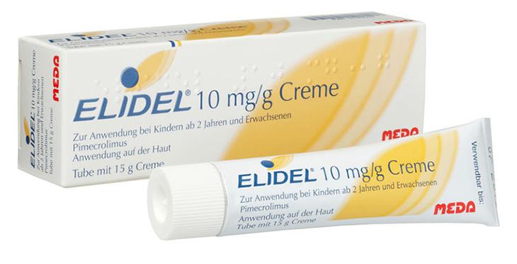 Elidel chữa á sừng hiệu quả