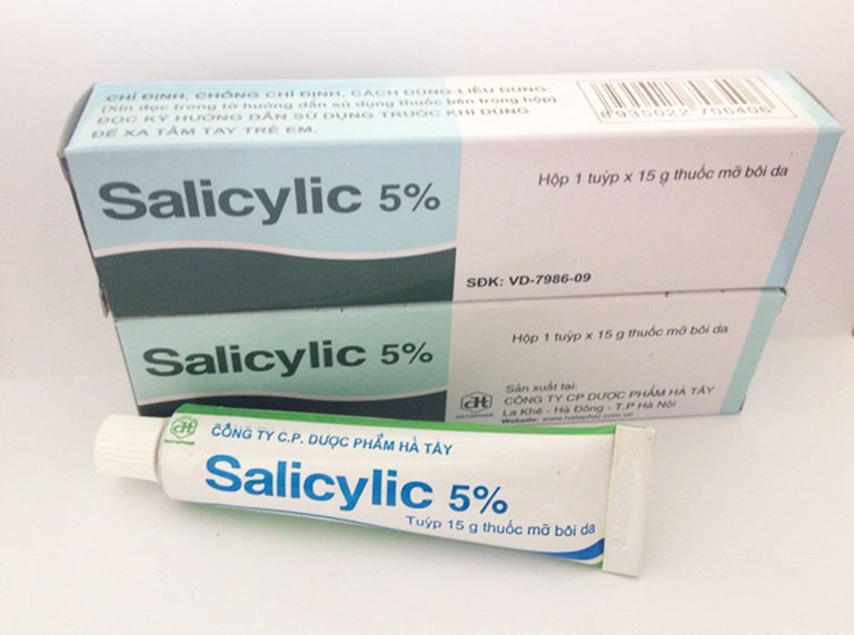 Acid Salicylic 5% là thuốc bôi hỗ trợ điều trị các bệnh da liễu phổ biến với mọi lứa tuổi (thận trọng với trẻ em dưới 12 tháng tuổi)
