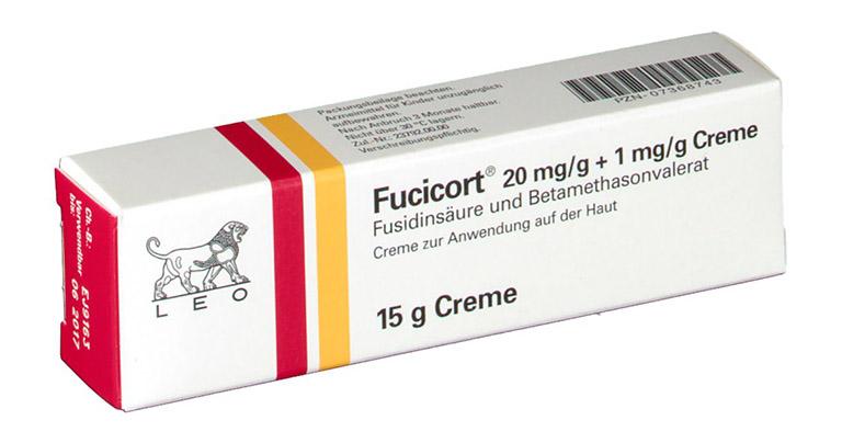 Fucicort là loại kem bôi trị á sừng tại chỗ hiệu quả