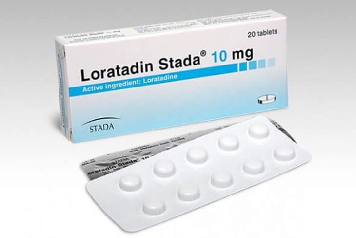 Loratadin là thuốc kháng viêm histamin được sử dụng nhiều chữa á sừng
