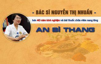 Bài thuốc trị viêm nang lông từ bác sĩ Nguyễn Thị Nhuần