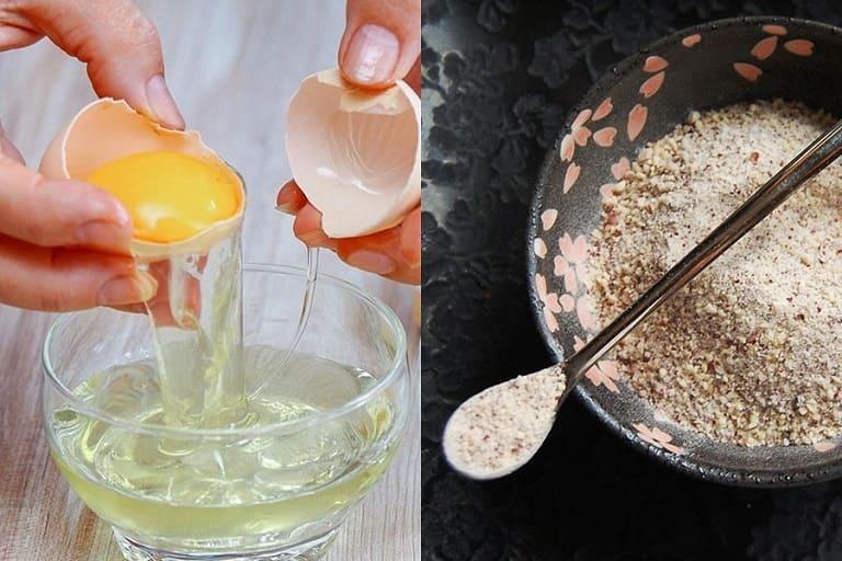 Cách làm mặt nạ trứng gà với bột đậu đỏ