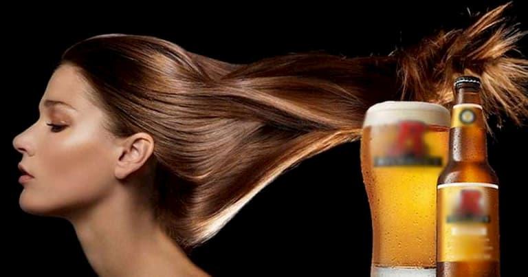 Dùng bia trị rụng tóc hiệu quả, an toàn