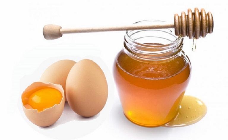 Chăm sóc da bằng mặt nạ trứng gà, mật ong