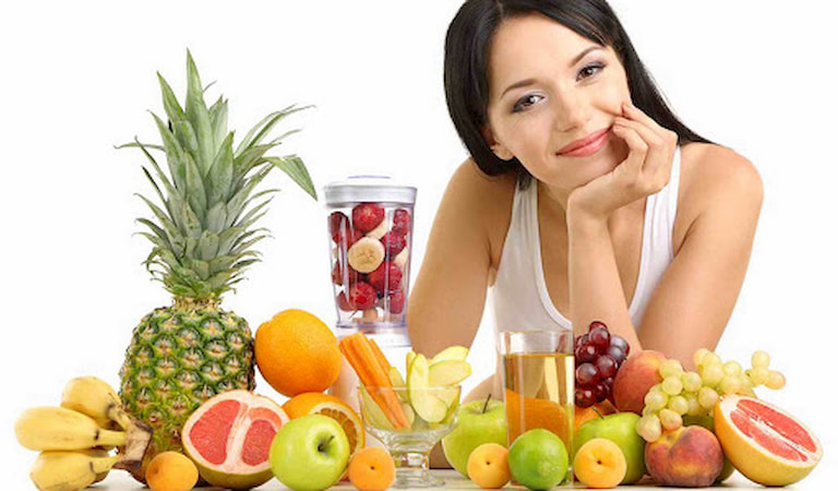 Chế độ dinh dưỡng phù hợp lành mạnh cho người bị mụn nội tiết