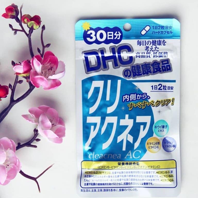 Viên uống đẹp da của Nhật DHC Cleacnea AC