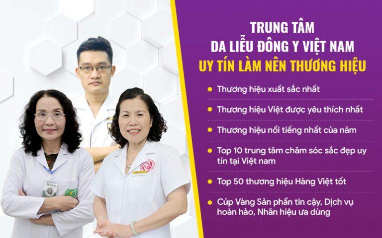 Trung tâm Da liễu Đông y Việt Nam - địa chỉ hàng đầu Việt Nam trong việc xử lý các vấn đề da liễu bằng thảo dược